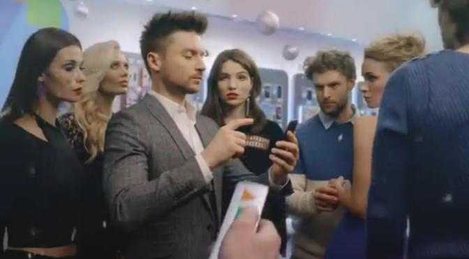 Сергей Лазарев в рекламе Связной
