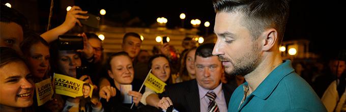 В Пензе поклонники сметают билеты на шоу Сергея Лазарева