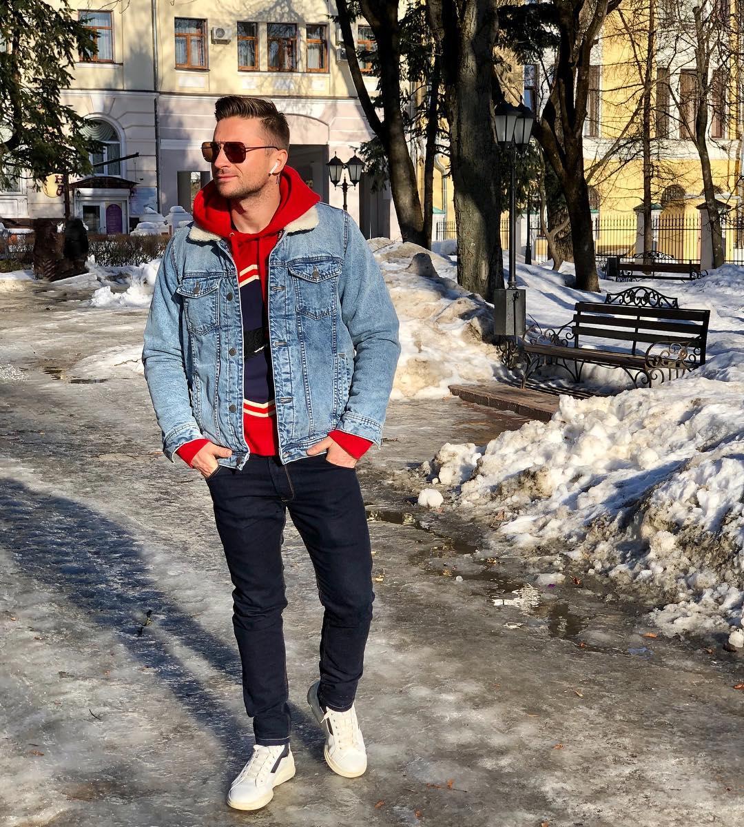 Сергей Лазарев встретил в Брянске весну